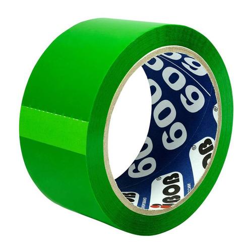 Фото - Упаковка клейкой ленты Unibob 600, упаковочная, зеленый, 48мм, 66м, 45мкм, полипропилен [41154] 6 шт./кор. клейкая лента коричневая unibob 48мм 66м 45мкм 6 шт в упаковке