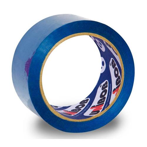 Фото - Упаковка клейкой ленты для ручной упаковки Unibob 600, упаковочная, синий, 48мм, 66м, 45мкм, полипропилен [41157] 6 шт./кор. клейкая лента коричневая unibob 48мм 66м 45мкм 6 шт в упаковке