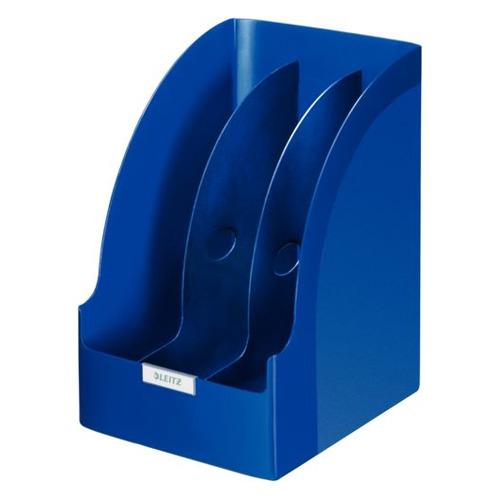 Лоток вертикальный ESSELTE Leitz Jumbo, для бумаг, 213x321x250, пластик, синий [52390035]