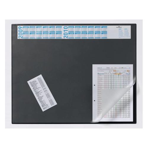 Настольное покрытие Durable (7204-01) 65х52см черный нескользящая основа прозрачный верхний слой 5 шт./кор. настольное покрытие durable 7224 01 65х52см черный нескользящая основа