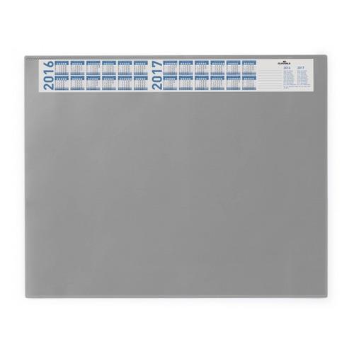 Настольное покрытие Durable (7204-10) 52x65см серый нескользящая основа прозрачный верхний слой 5 шт./кор.