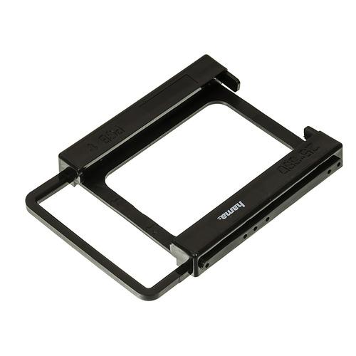 Фото - Салазки для 3.5 отсека HAMA H-39830, для 2.5 дисков, черный [00039830] салазки kingston для 3 5 отсека для hdd 2 5 sna br2 35