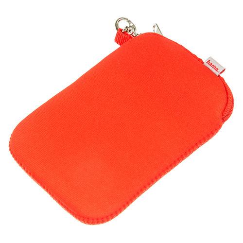 Защитный чехол HAMA H-95507, для 2.5 дисков, красный [00095507] hama чехол для внешнего жесткого диска 2 5 orlando blue