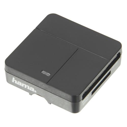 Фото - Картридер внешний HAMA 00094124, черный картридер внешний hama h 123900 usb3 0 серебристый 00123900