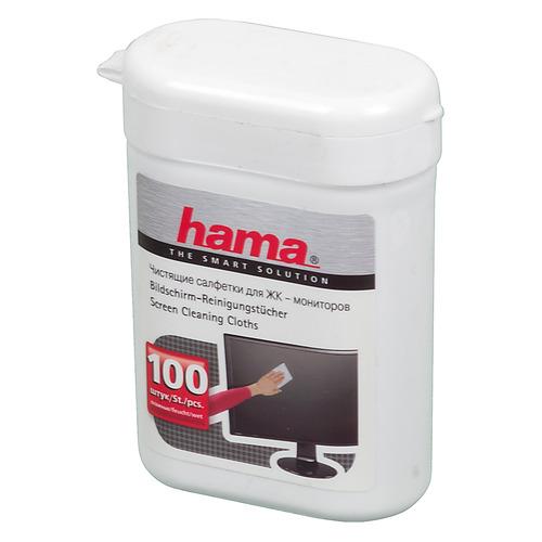 Влажные салфетки HAMA R1084187 цена и фото