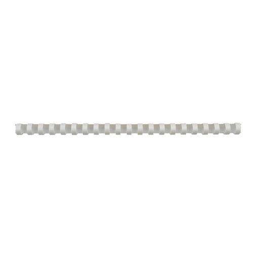 Пружина пластиковая FELLOWES FS-53498, 45мм, A4, 50, белый пружина для брошюровки fellowes fs 53497