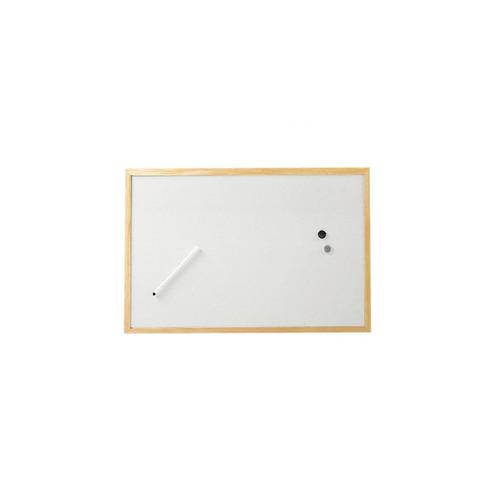 Фото - Доска магнитно-маркерная Hebel Maul Weiss 2534002 лак 40x60см деревянная рама доска комбинированная hebel maul combiboard standard 6447484 пробка лак 45x60см алюминиевая рама про