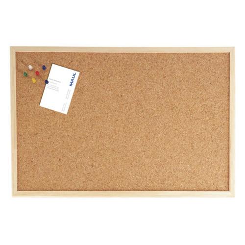 Фото - Доска пробковая Hebel Maul Weiss 2706170 60x100см деревянная рама доска комбинированная hebel maul combiboard standard 6447484 пробка лак 45x60см алюминиевая рама про
