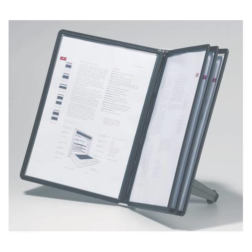 Дисплейная система Durable Sherpa Soho 5540-01 настольная модуль/5 панелей цена и фото