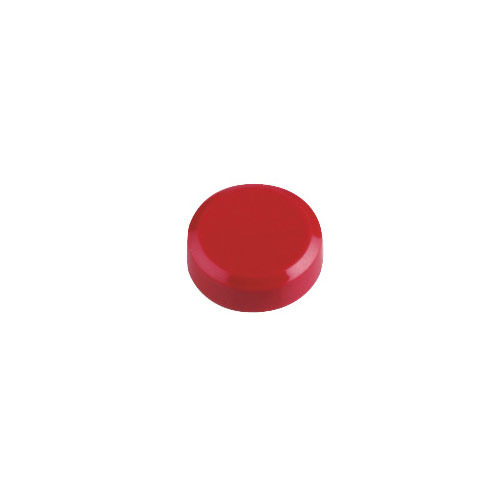 Фото - Магнит для досок Hebel Maul 6176125 красный d=20мм круглый 20 шт./кор. лото бумажное умка машинки 48 карточек в кор в кор 20шт