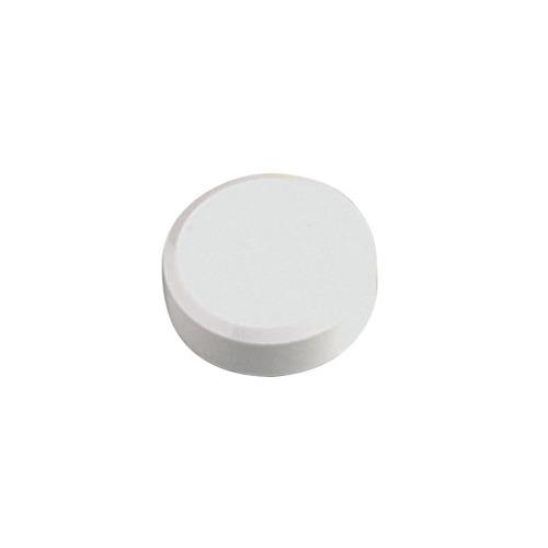 Фото - Магнит для досок Hebel Maul 6177102 белый d=30мм круглый 20 шт./кор. лото бумажное умка машинки 48 карточек в кор в кор 20шт