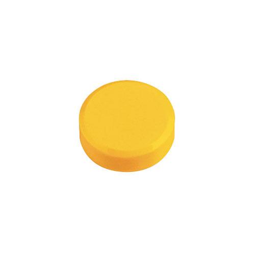 Фото - Магнит для досок Hebel Maul 6177113 желтый d=30мм круглый 20 шт./кор. лото бумажное умка машинки 48 карточек в кор в кор 20шт