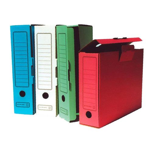 цена на Короб архивный Бюрократ KKA-80 микрогофрокартон корешок 80мм A4 340x255x80мм ассорти 40 шт./кор.
