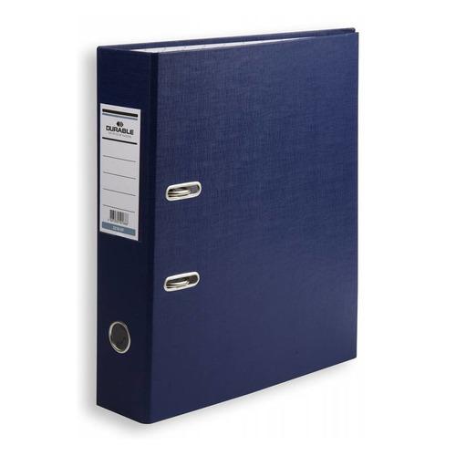 Папка-регистратор Durable 3210-07 A4 70мм бумвинил синий 20 шт./кор. цены онлайн