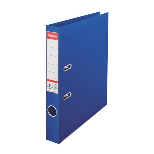 Папка-регистратор Esselte №1 Power 811450Р A4 50мм пластик синий