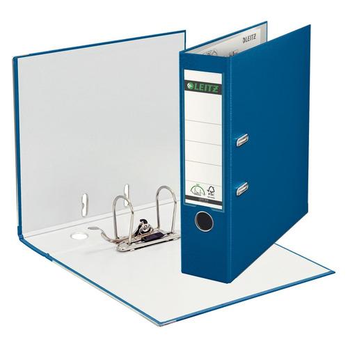 цена на Папка-регистратор Esselte Leitz 10101235P A4 80мм пластик синий