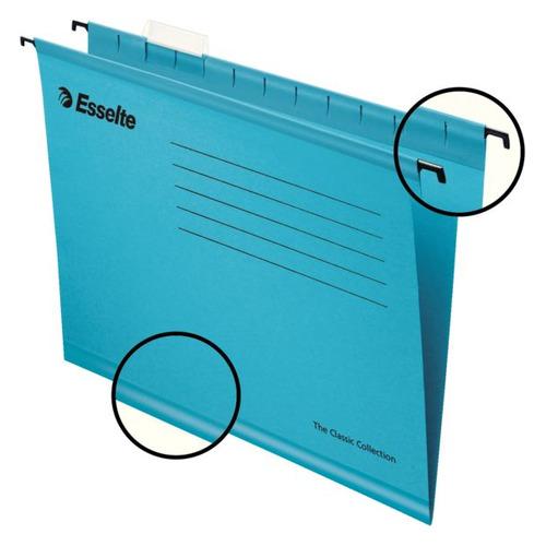 Папка подвесная Esselte Classic 90311 A4 синий (упак.:25шт) 25 шт./кор. оникс папка i love paris формат a4