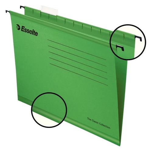 Упаковка папок подвесных ESSELTE 90318, зеленый