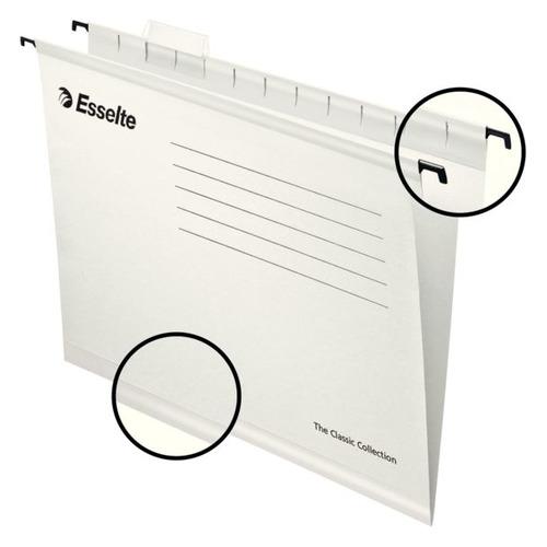 Упаковка папок подвесных ESSELTE 90319, белый