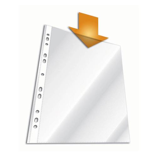 Упаковка папок-вкладышей DURABLE 2668-19, глянцевые, А4, 48мкм, 100шт 10 шт./кор.