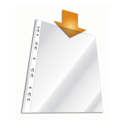 Упаковка папок-вкладышей DURABLE 2672-19, глянцевые, А4, 48мкм, 100шт