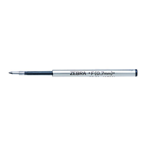 Стержень для шариковых ручек Zebra F (BR-1B-F-BL) 0.7мм синий 12 шт./кор. стержень для шариковых ручек zebra ola 1мм синий 3шт 24 шт кор