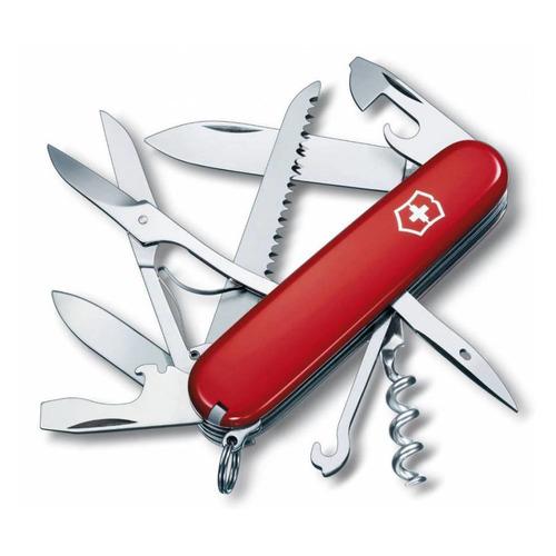 цена на Складной нож VICTORINOX Huntsman, 15 функций, 91мм, красный