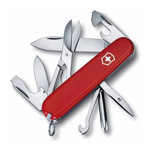 цена на Складной нож VICTORINOX Super Tinker, 14 функций, 91мм, красный