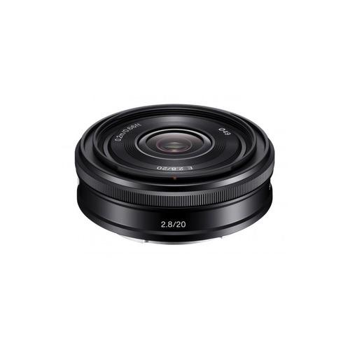лучшая цена Объектив SONY 20mm f/2.8 SEL-20F28, Sony E, черный [sel20f28.ae]