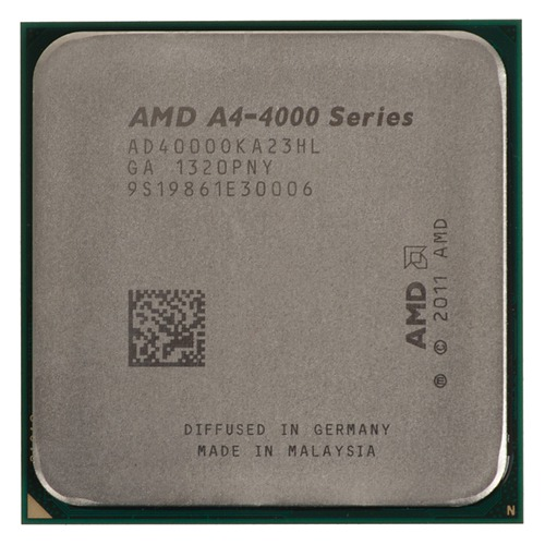 Процессор AMD A4 4000, SocketFM2, OEM [ad4000oka23hl] процессор amd x2 a4 4000 richland oem ad4000oka23hl 3000mhz socketfm2 1024kb