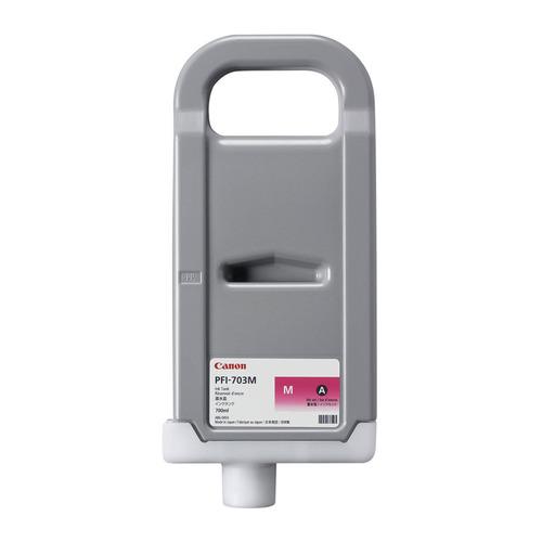 купить Картридж CANON PFI-703 M, пурпурный [2965b001] дешево