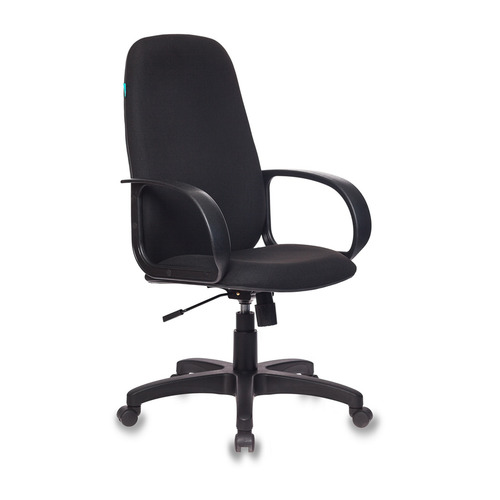 Кресло руководителя БЮРОКРАТ CH-808AXSN, на колесиках, ткань, черный [ch-808axsn/#b] кресло руководителя бюрократ ch 808axsn на колесиках ткань темно серый [ch 808axsn g]