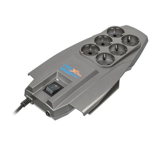 цена на Сетевой фильтр PILOT X-Pro, 5м, серый