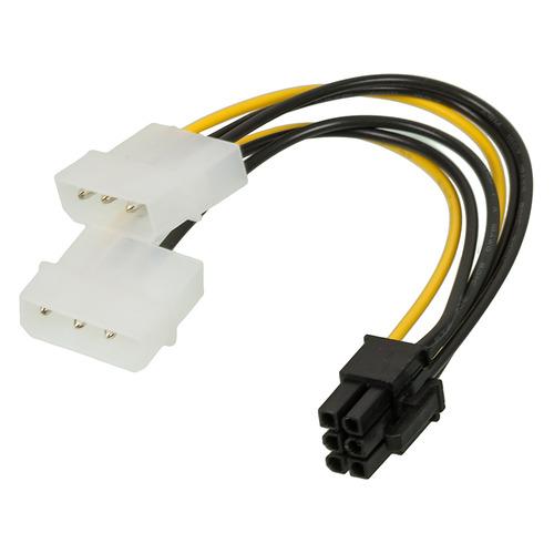 Фото - Кабель питания NINGBO RTL-C32, PCI-E 6pin - Molex 89802 x память ddr4 4x16gb 3600mhz corsair cmk64gx4m4b3600c18 rtl pc4 28800 cl18 dimm 288 pin 1 35в
