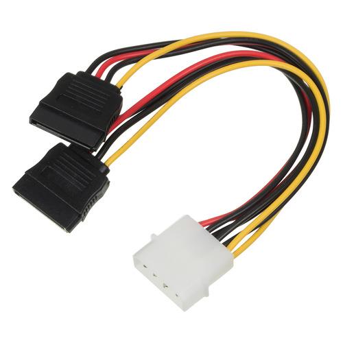 Фото - Кабель питания NINGBO Molex 8980 - SATA2 x , 0.18м кабель