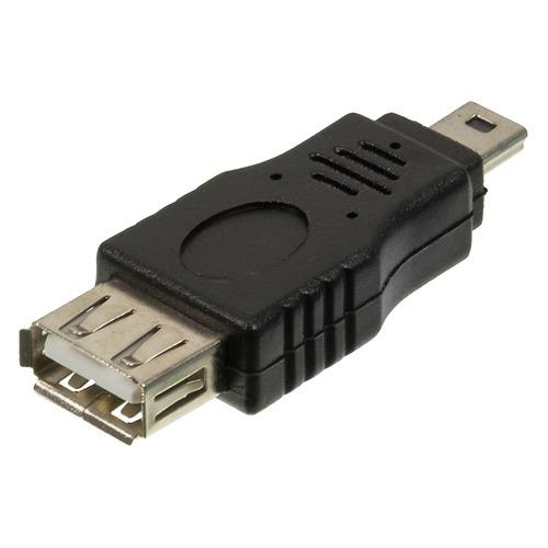 Фото - Переходник USB2.0 NINGBO mini USB B (m) - USB A(f) переходник