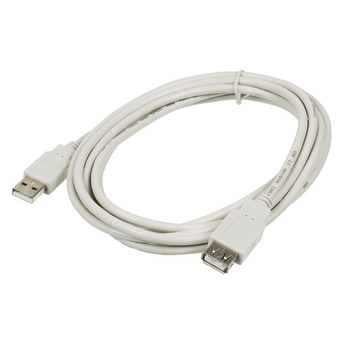 Фото - Кабель-удлинитель USB2.0 NINGBO USB A(m) - USB A(f), 3м, серый кабель удлинитель usb2 0 hama h 45040 usb a m usb a f 3м серый [00045040]