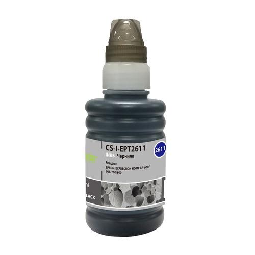 Чернила CACTUS CS-I-EPT2611, для Epson, 100мл, фото черный CS-I-EPT2611 по цене 180