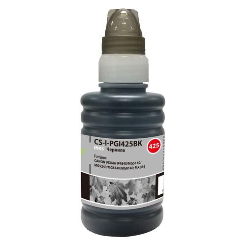 Чернила CACTUS CS-I-PGI425BK, для Canon, 100мл, черный