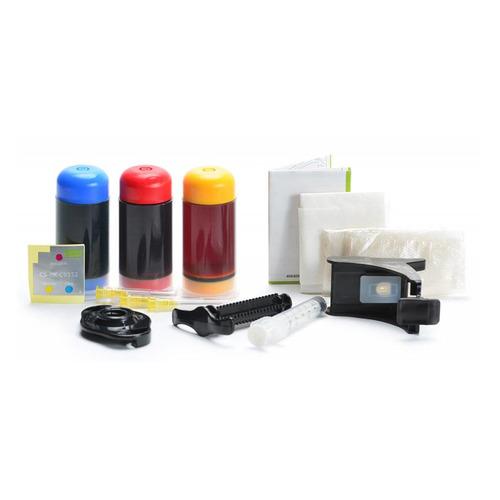 Заправочный комплект CACTUS CS-RK-C9352, для HP, 90мл, многоцветный  - купить со скидкой