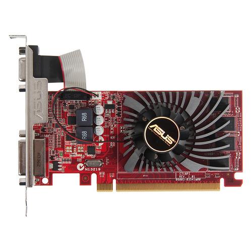 Видеокарта ASUS AMD Radeon R7 240 , R7240-2GD3-L, 2Гб, DDR3, Low Profile, Ret видеокарта 2048mb asus r7 240 2gd3 l pci e 128bit gddr3 2xdvi hdmi dp r7240 2gd3 l retail