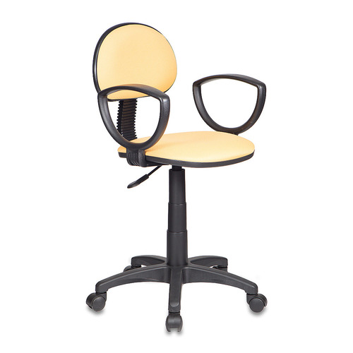 Кресло БЮРОКРАТ CH-213AXN, на колесиках, ткань, желтый [ch-213axn/15-155] кресло бюрократ ch 213axn на колесиках ткань [ch 213axn grey]