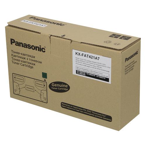 цена на Картридж PANASONIC KX-FAT421A7, черный