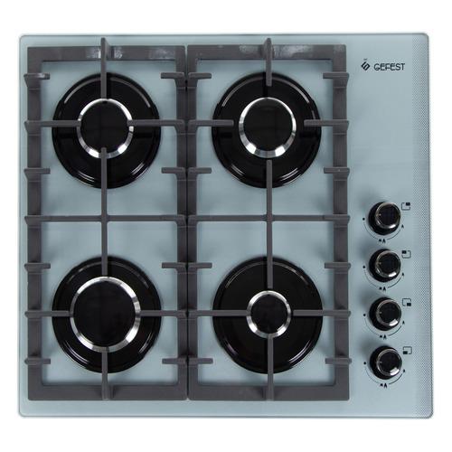 Варочная панель GEFEST СГ СВН 2230 К6, независимая, серебристый варочная панель gefest сг свн 2230 к4 независимая коричневый