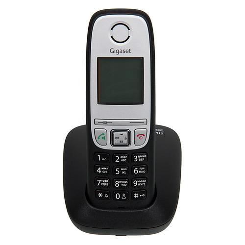 Радиотелефон GIGASET A415 RUS, черный [s30852-h2505-s301] радиотелефон gigaset a415 black