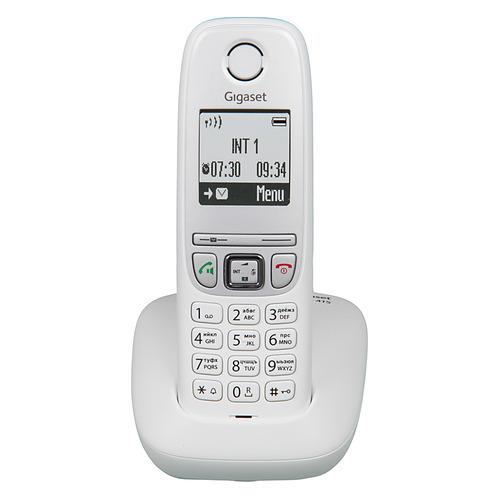 Радиотелефон GIGASET A415 RUS, белый [s30852-h2505-s302] радиотелефон gigaset a415 black