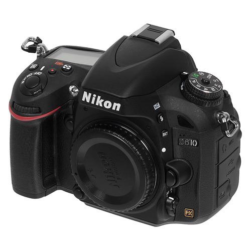 Зеркальный фотоаппарат NIKON D610 body, черный