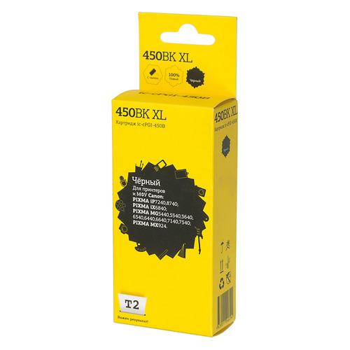 Фото - Картридж T2 IC-CPGI-450B XL, черный / IC-CPGI-450B XL картридж t2 ic cpgi 520bk совместимый