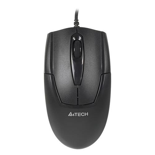 Мышь A4 V-Track Padless OP-540NU, оптическая, проводная, USB, черный a4tech v track padless op 540nu черный