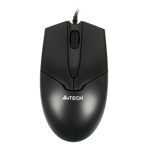 Мышь A4 V-Track Padless OP-550NU, оптическая, проводная, USB, черный a4tech v track padless op 550nu черный